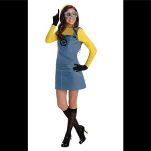 🌿 RUBIE'S DESPICABLE ME 2 MINION WOMENS COSTUME